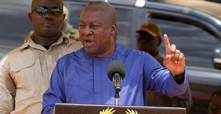 Post-Covid-19: Ghana Needs Mahama's 'visionary Leadership' To Create And Handle A New And Better Normal