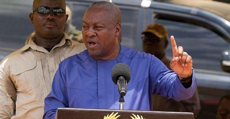 Mahama Actually Staged a Coup D'état