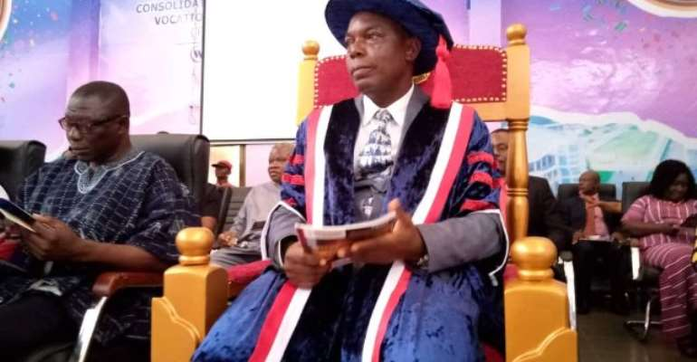 Prof Hoenyenyenuga Takeover As New VC For Ho Technical University
