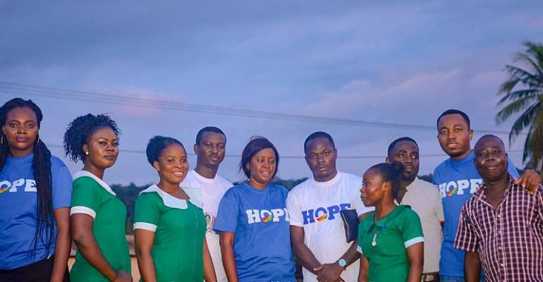 HOPE Campaign Holds Breast Cancer Screening At Prestea-Bondaye