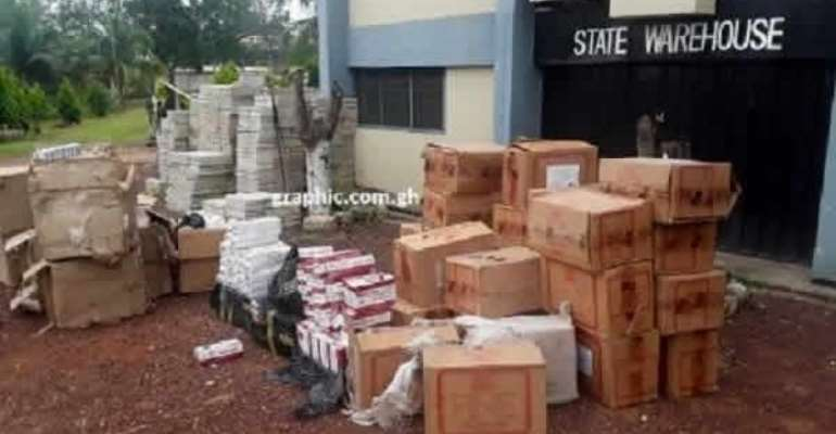 Banned, Expired Goods Destroyed In Sunyani