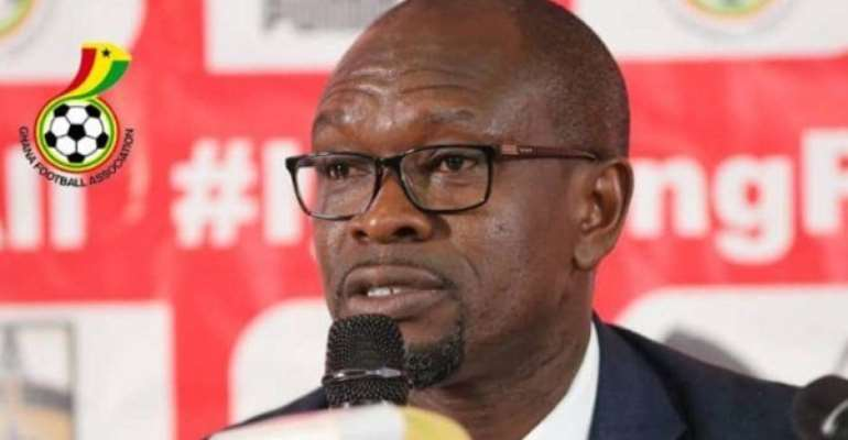Ghana head coach CK Akonnor