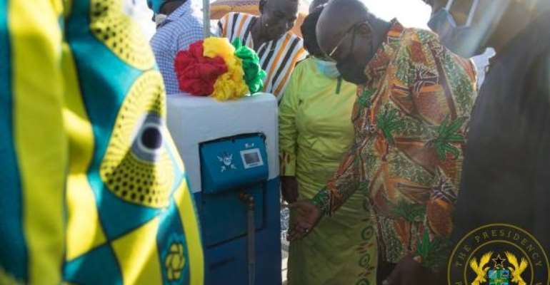 Akufo-Addo Commissions GHS5.1m Hamile-Happa Water Project