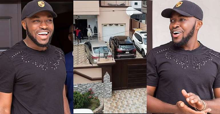 WATCH: Despite Son Kennedy Osei's Plush Mansion, Expensive Cars Pop Up In New Video