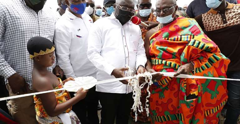 Mampong Asaam: Vice President Bawumia Commissions 1,000 Tonne Warehouse
