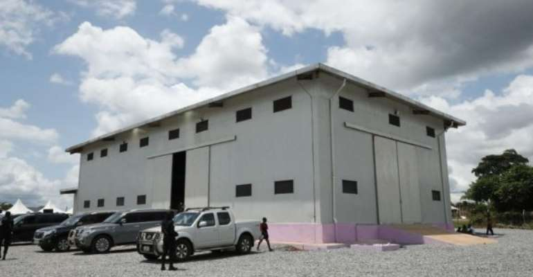 A/R: Bawumia Commissions 1,000 Tonne Warehouse At Asaam