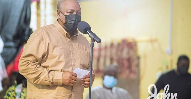 Looking at how Kissi Agyebeng has started, we are hopeful he'll fight corruption  – Mahama