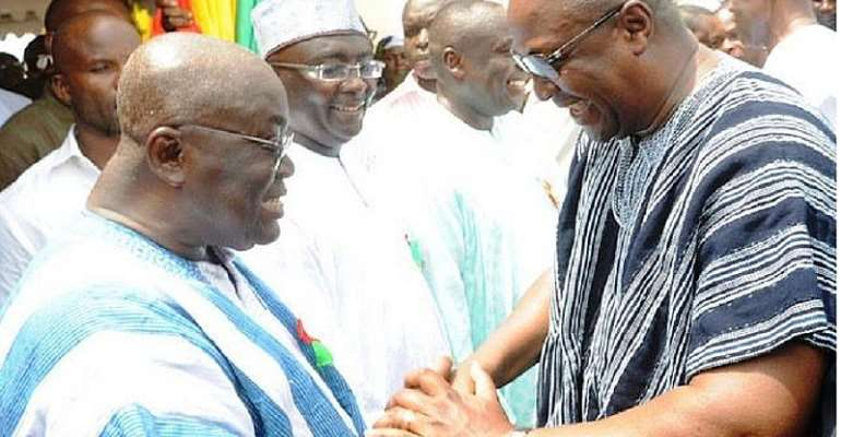 There are no jobs and you are doing free SHS — Mahama jabs Akufo-Addo