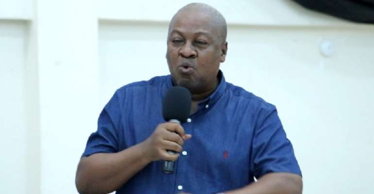 Akufo-Addo is more interested in sod-cutting than completing existing hospitals – Mahama