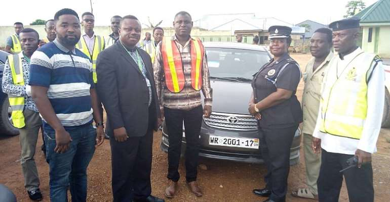 Tarkwa Municipality Begins Car Registration