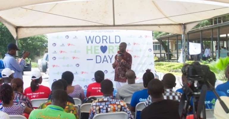 World Heart Day: Awake Water Doles Out GHC75,000 To Cardio Centre