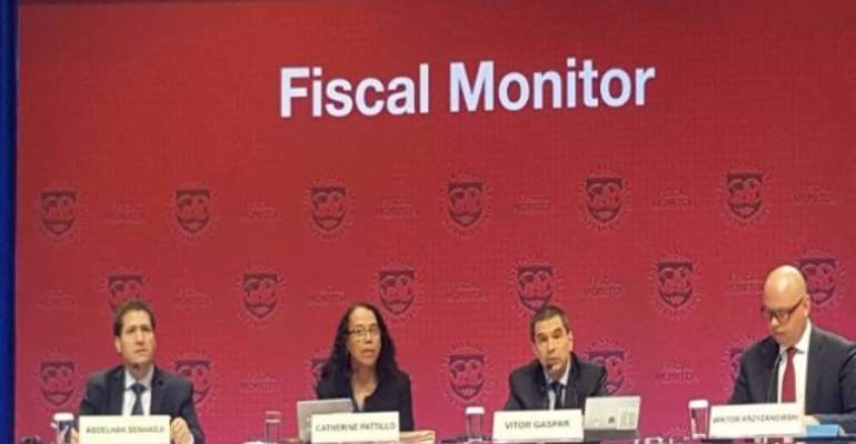 IMF Reveals Ghana's Debt-To-GDP Ratio To Reach 66.1% By 2018