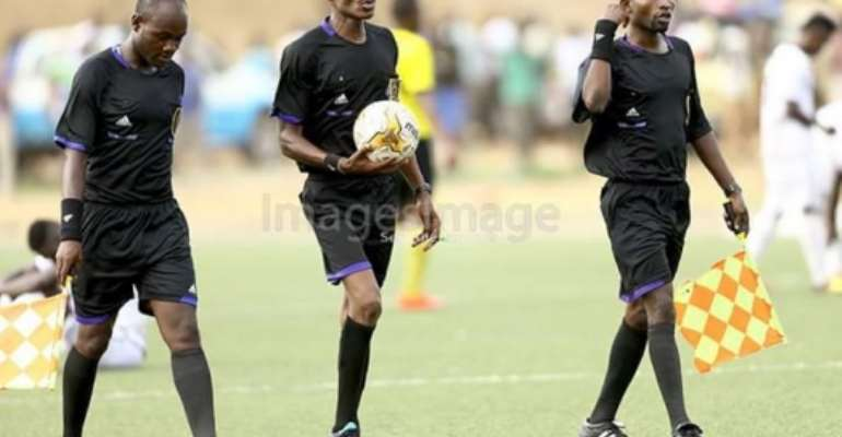 PLB Appoints Isaac Quaue To Officiates Medeama-Hearts Cracker In Tarkwa