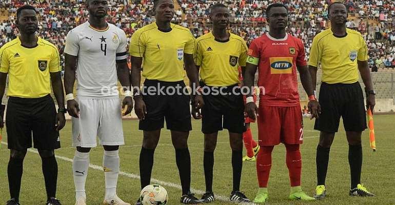 Black Stars Defeat Asante Kotoko In A Friendly [PHOTOS]