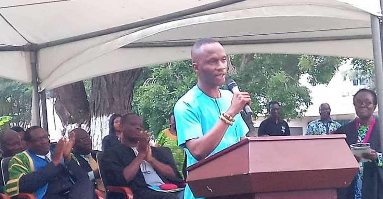 Respect Time — GRASAG GIMPA President Tell Matriculants