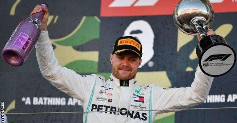 Bottas Wins Japanese Grand Prix As Mercedes Win Constructors' Title