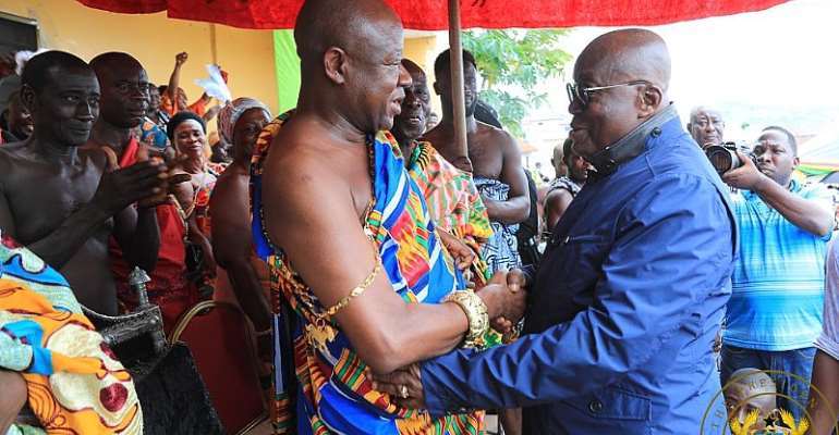 Posterity will applaud you for Free SHS, 1D1F – Kumawu Omanhene to Nana Addo