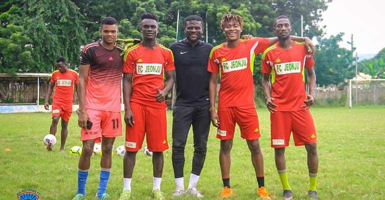 Fatawu Dauda & Awal Mohammed Train With Ghana Premier League Side Wa All Stars