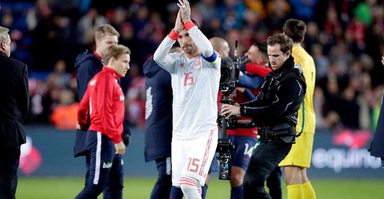 'Huge Pride' As Ramos Sets Spain Record With 168th Cap