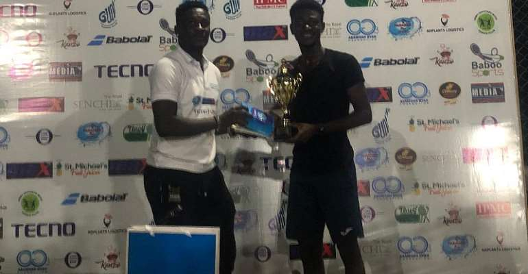 Japheth Bagerbaseh Wins Baby-Jet Top Tennis Stars Tourney