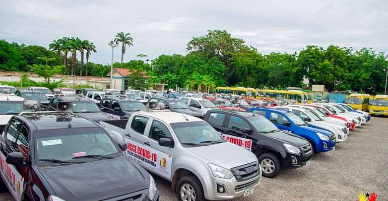 Gov't Orders NCCE To Return 25 Vehicles Meant For Covid-19 Campaign