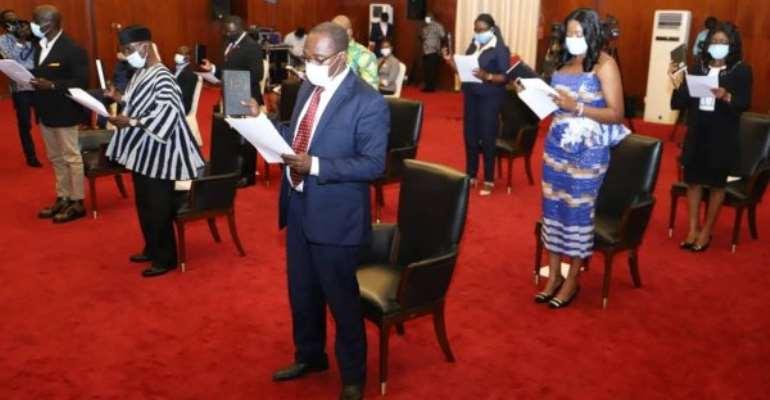 Akufo-Addo Inaugurates Nine-member LOC For Ghana 2023