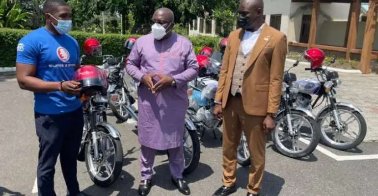 E/R: Over 1,000 motorbikes supplied to assemblymembers