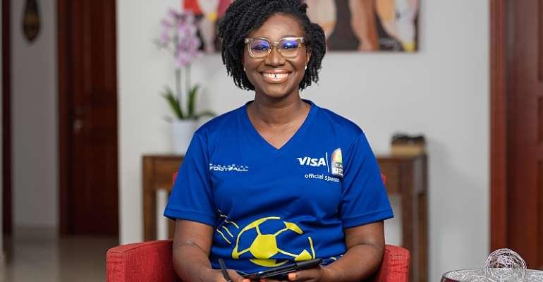 Country Manager of Visa in Ghana, Adoma Peprah