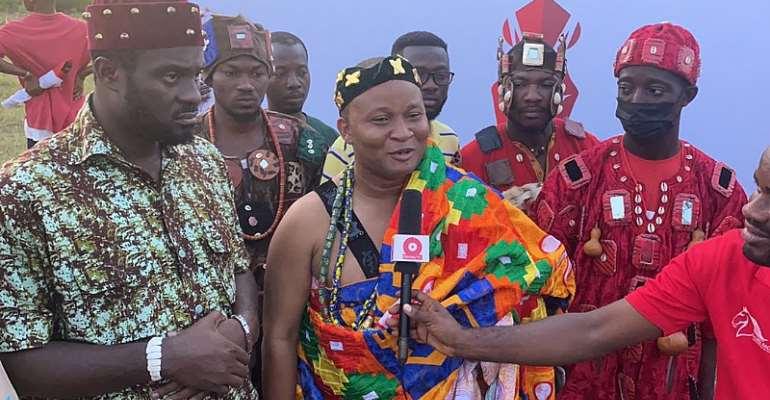 Sempe Akwashongtse pledge to support horse racing
