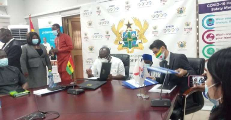 Ghana, Japan sign two grant agreements worth $36.50 million for Tema-Motorway Roundabout Phase II