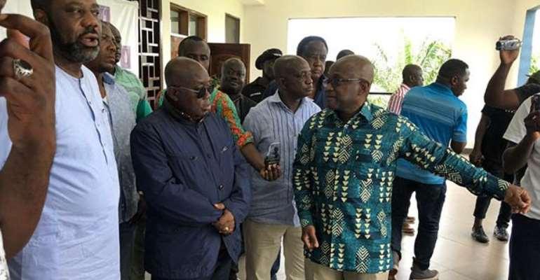 Kumawu: NYU Research Center Hosts Akufo-Addo
