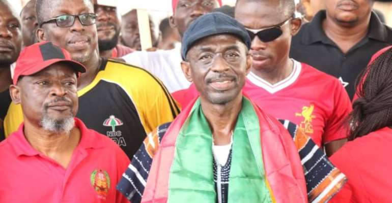 NDC Steals Show At Energy Minister Sister's Funeral