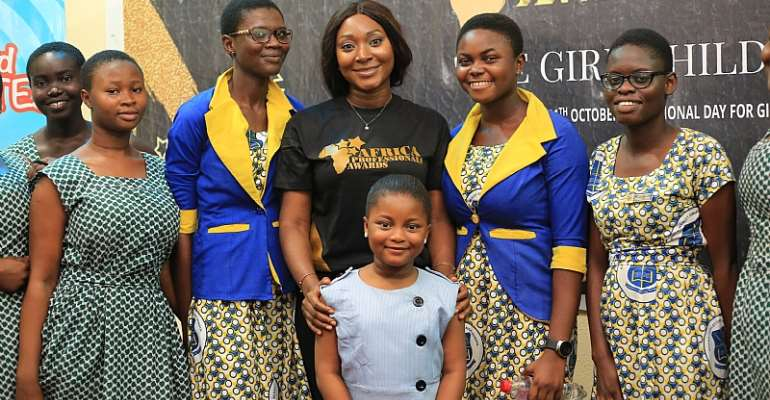 Africa Professionals Awards And Mentorship Holds Girl Child Edition