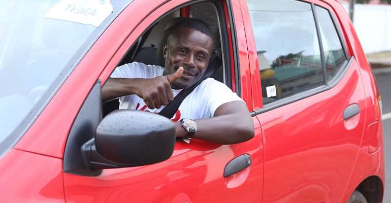 Richard Ako Adjei Wins Driver Of The Month On Yango App