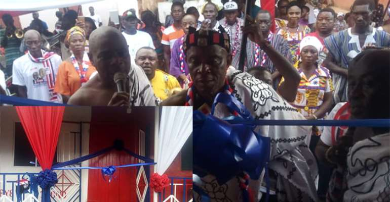 NPP Get Party Office At Akyem – Apedwa From Undisclosed Man
