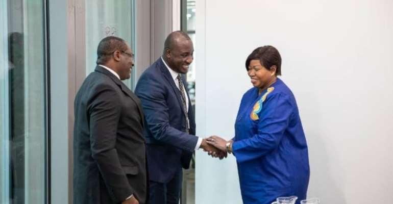 ICC, GIMPA To Deepen Ties To Promote International Criminal Justice