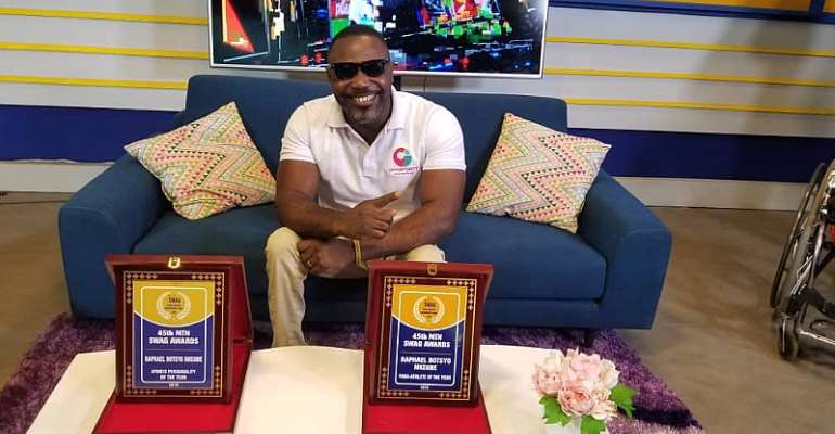 It's A Great Honour To Be SWAG Sports Personality – Raphael Botsyo Nkegbe