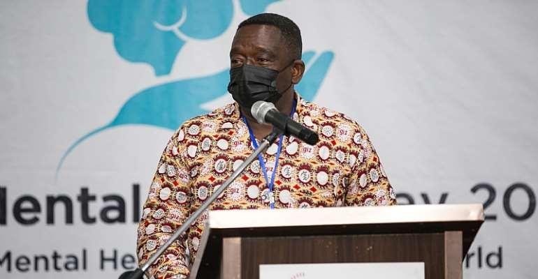 Snr. National Programme Coordinator, Mr. David Yawo-Mensah Tette