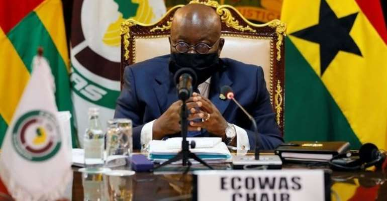 I want to reiterate my earlier calls to elect members of the ECOWAS Parliament — Akufo-Addo