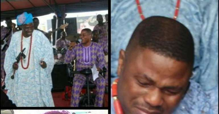 Singer, Yinka Ayefele Remembers Late Father After 4 Years
