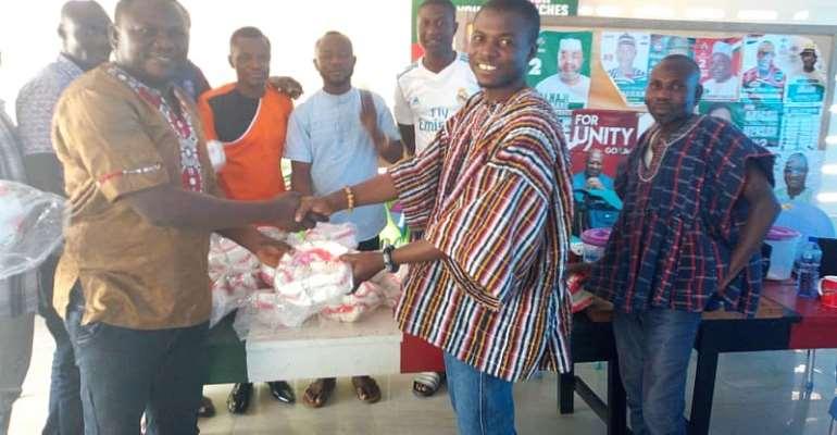Upper West NDC Regional Youth Organiser, Mr. Nicodemus N.B.D Dery, Rebrands Youth Front
