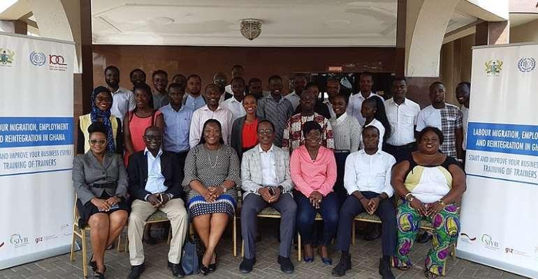 Ghanaian-German Centre, ILO Empowers Budding Entrepreneurs With Business Management Training
