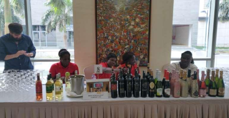 Spanish Embassy Holds Wine Fair