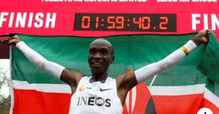 Eluid Kipchoge - Greatest Marathoner To Run Under Two Hours