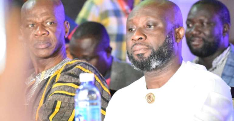 GFA Elections: I Will Build A Good Relationship Gov't And My Administration - George Afriyie
