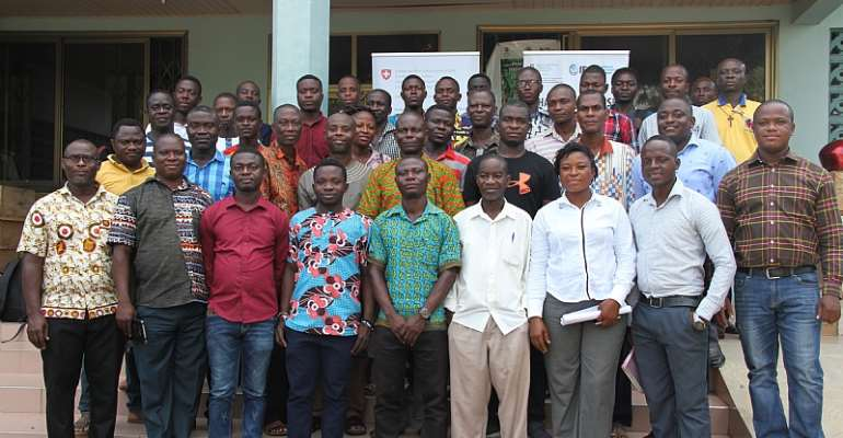 Farmers, Agric Extension Officers In Afram Plains Welcome Marketing Opportunities Under The Ghana Warehouse Receipt System