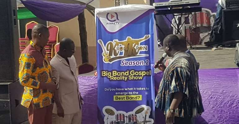 Atinka TV Launches Season Two Of Gospel Band Show 'KronKron'