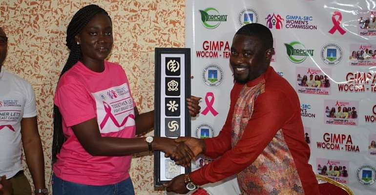 Dr Adu Boateng and Endpoint Homeopathic Clinic Honoured By Gimpa Students