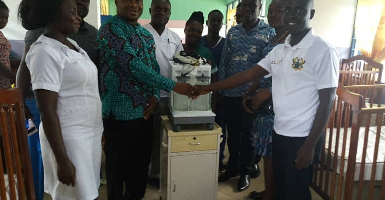 Jomoro NABCO Donates To Half Assini Gov't Hospital