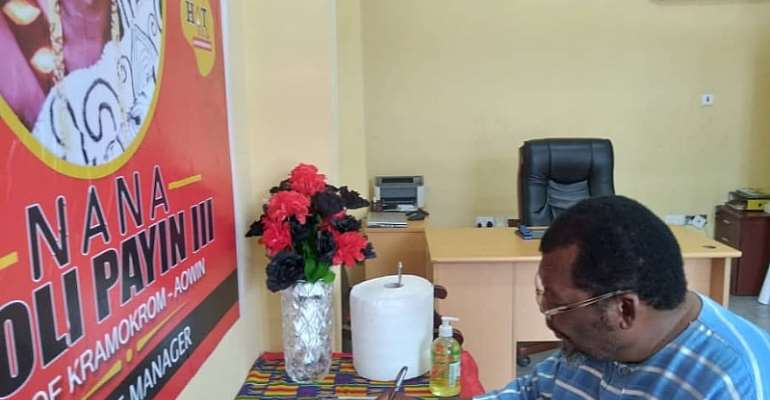 Papa Nii Pays 'Melancholic Tribute' To Murdered Finance Manager Of Hot FM